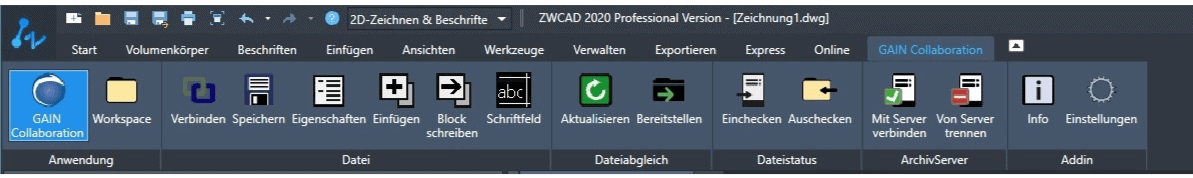 ZWCAD PDM Integration