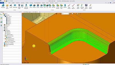 ZW3D 3D Bahnabstand