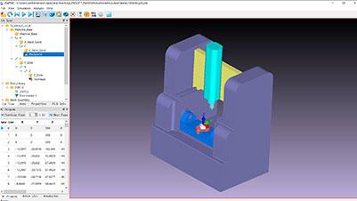 ZW3D Maschinensimulation
