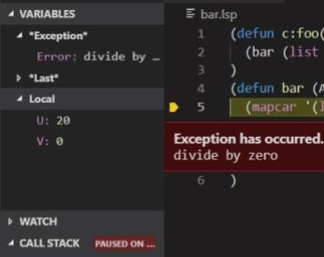 LISP in ZWCAD